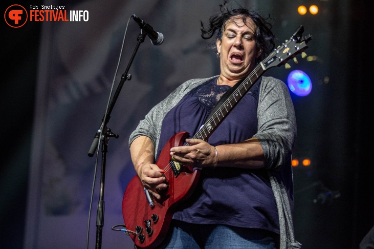 Joanna Connor op Holland International Blues Festival 2018 - Vrijdag foto
