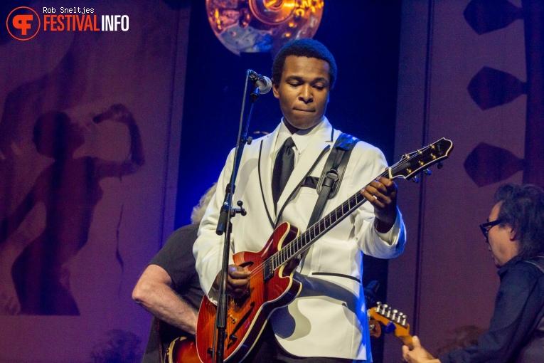 Foto King Solomon Hicks op Holland International Blues Festival 2018 - Vrijdag