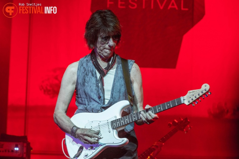 Jeff Beck op Holland International Blues Festival 2018 - Vrijdag foto