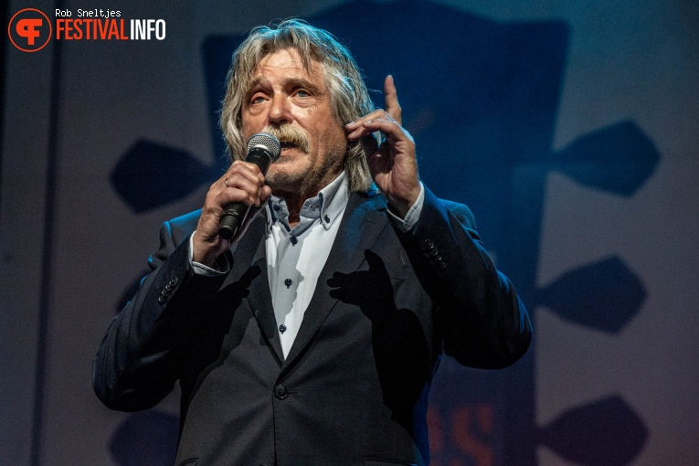 Johan Derksen op Holland International Blues Festival 2018 - Vrijdag foto