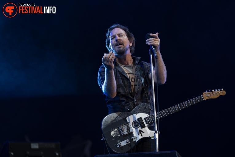 Foto Pearl Jam op Pinkpop 2018 - vrijdag