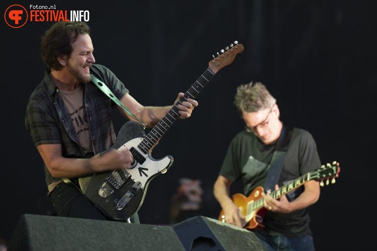 Pearl Jam op Pinkpop 2018 - vrijdag foto