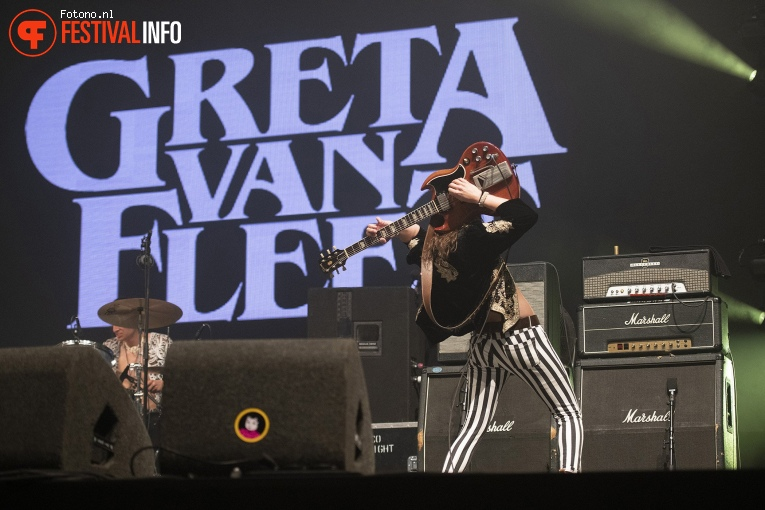 Greta van Fleet op Pinkpop 2018 - Zondag foto