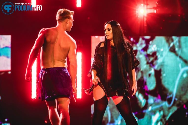 Demi Lovato op Demi Lovato - 18/06 - AFAS Live foto