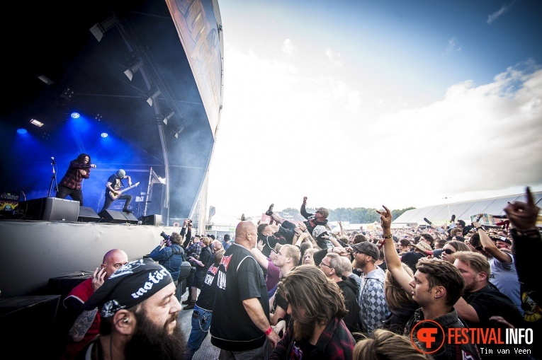 Fleddy Melculy op Graspop Metal Meeting 2018 - Donderdag foto