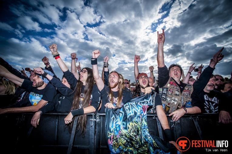 Iced Earth op Graspop Metal Meeting 2018 - Donderdag foto