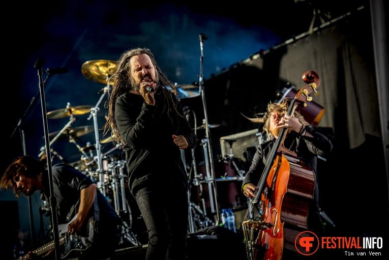Jonathan Davis op Graspop Metal Meeting 2018 - Donderdag foto