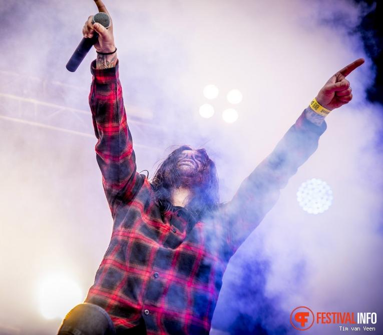 Foto Fleddy Melculy op Graspop Metal Meeting 2018 - Donderdag