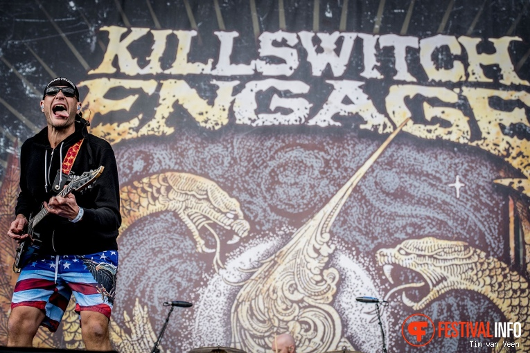 Killswitch Engage op Graspop Metal Meeting 2018 - Vrijdag foto