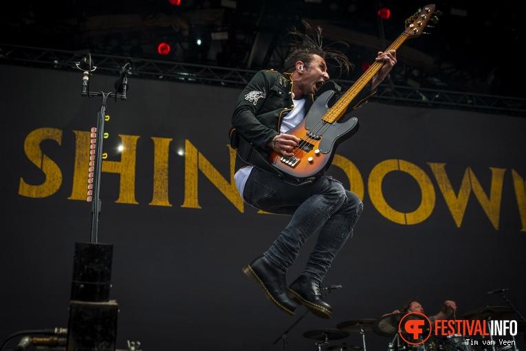 Foto Shinedown op Graspop Metal Meeting 2018 - Vrijdag