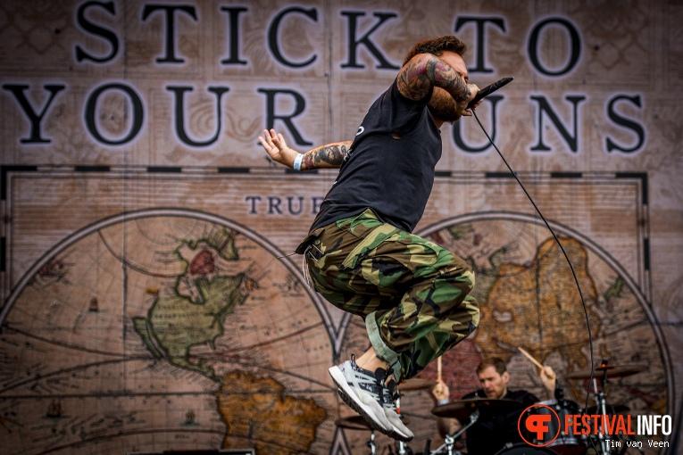 Stick to your Guns op Graspop Metal Meeting 2018 - Vrijdag foto