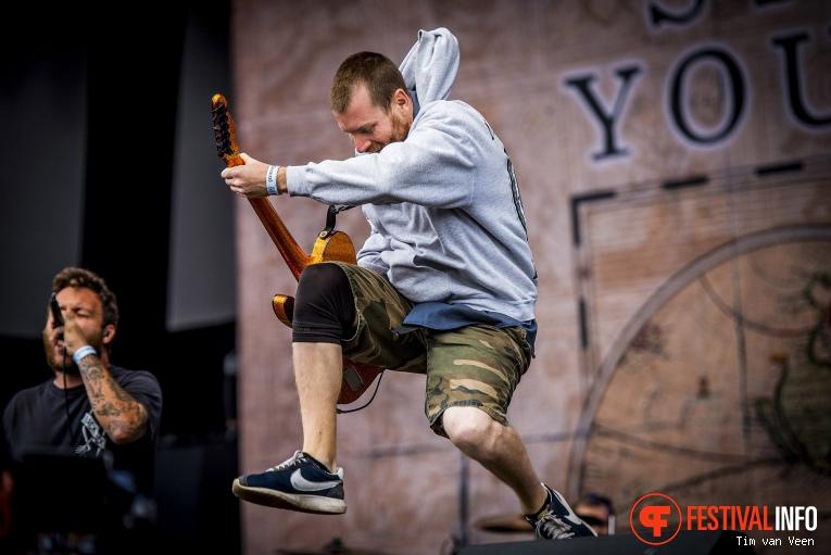 Foto Stick to your Guns op Graspop Metal Meeting 2018 - Vrijdag