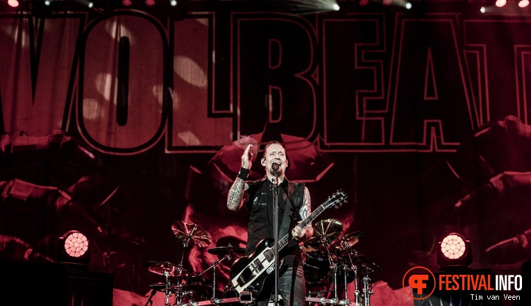 Foto Volbeat op Graspop Metal Meeting 2018 - Zaterdag