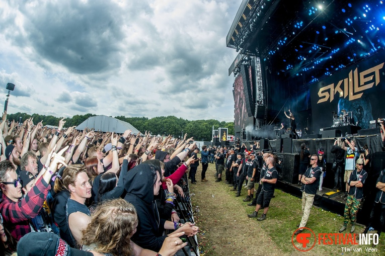 Skillet op Graspop Metal Meeting 2018 - Zaterdag foto