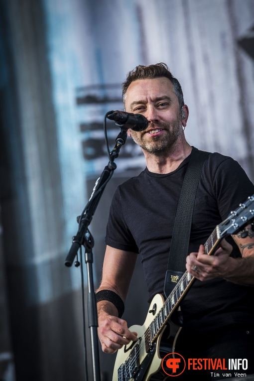 Foto Rise Against op Graspop Metal Meeting 2018 - Zaterdag