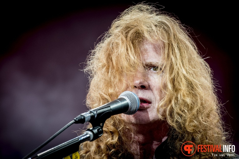 Megadeth op Graspop Metal Meeting 2018 - Zaterdag foto