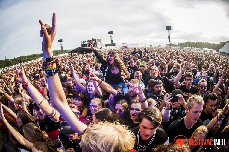 Rise Against op Graspop Metal Meeting 2018 - Zaterdag foto
