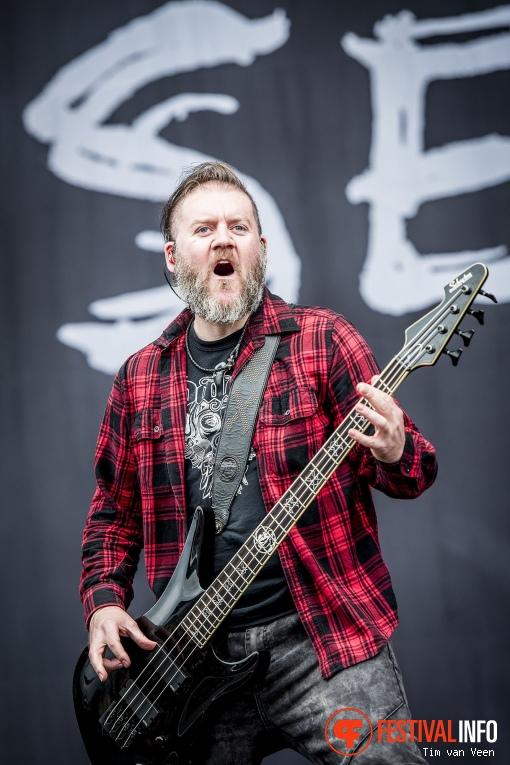 Seether op Graspop Metal Meeting 2018 - Zaterdag foto