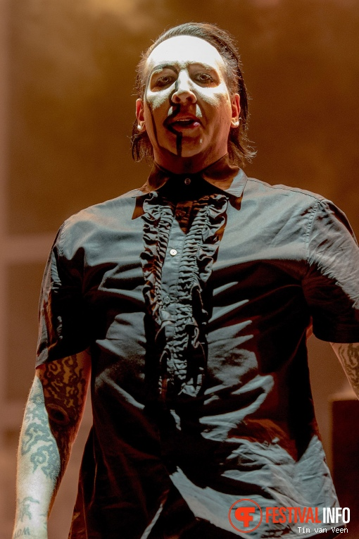 Foto Marilyn Manson op Graspop Metal Meeting 2018 - Zaterdag
