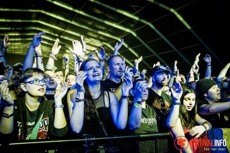 Foto Lacuna Coil op Graspop Metal Meeting 2018 - Zondag