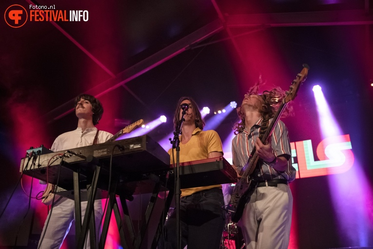 Foto Parcels op Down The Rabbit Hole 2018 - Vrijdag
