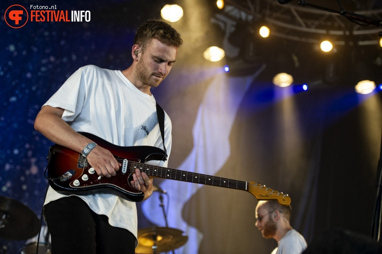 Foto Tom Misch op Down The Rabbit Hole 2018 - Vrijdag