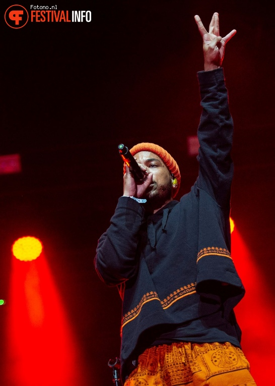 Foto Anderson .Paak op Down The Rabbit Hole 2018 - Zaterdag