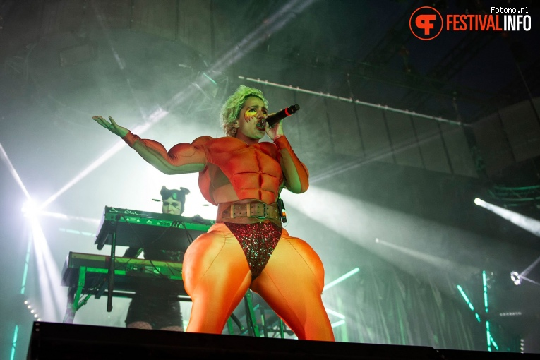 Foto Fever Ray op Down The Rabbit Hole 2018 - Zaterdag