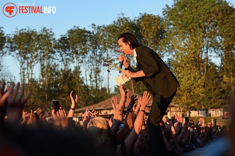 Nick Cave op Down The Rabbit Hole 2018 - Zondag foto