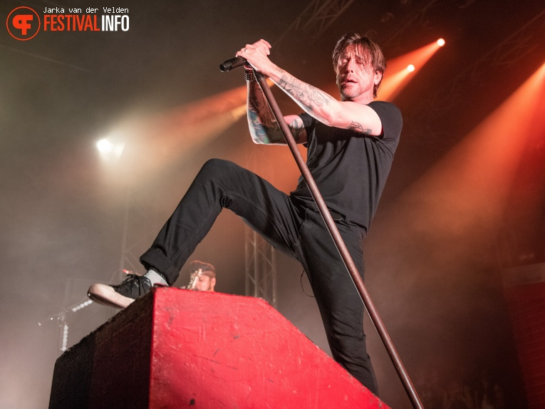 Billy Talent op Jera On Air 2018 - Vrijdag foto