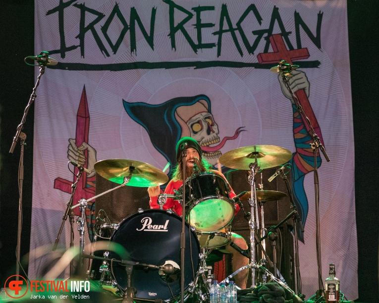 Iron Reagan op Jera On Air 2018 - Zaterdag foto