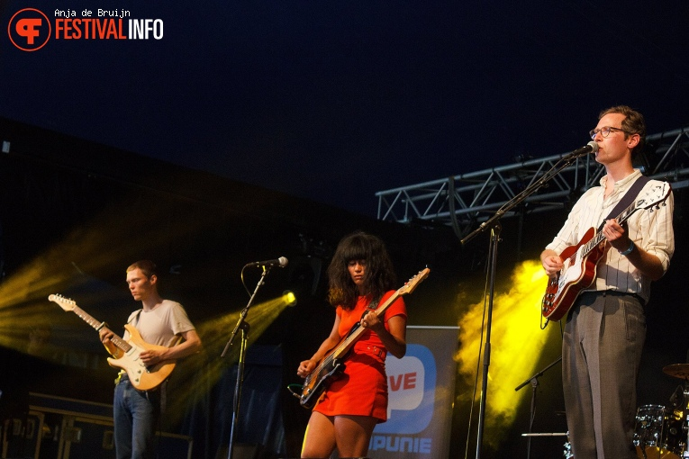 Foto Lewsberg op Metropolis Festival 2018
