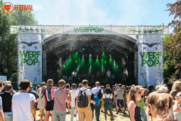 Klangstof op Werfpop 2018 foto