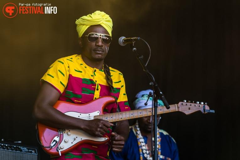 Togo All Stars op Werfpop 2018 foto