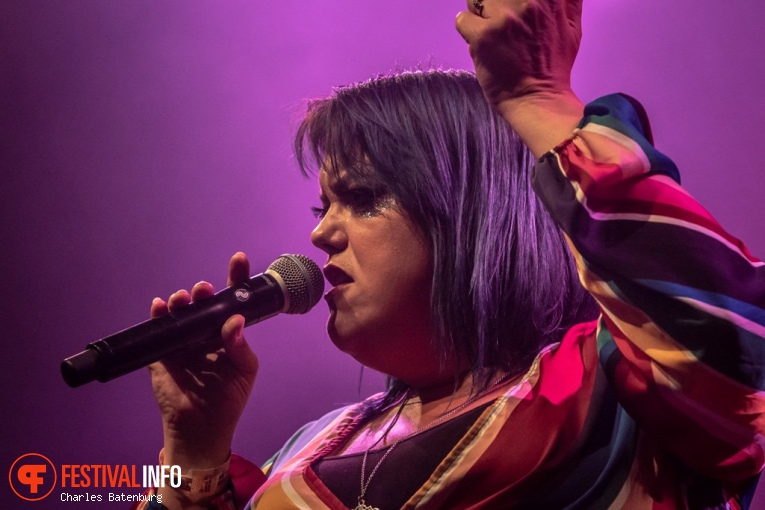 Hannah Williams & The Affirmations op NN North Sea Jazz 2018 - vrijdag foto