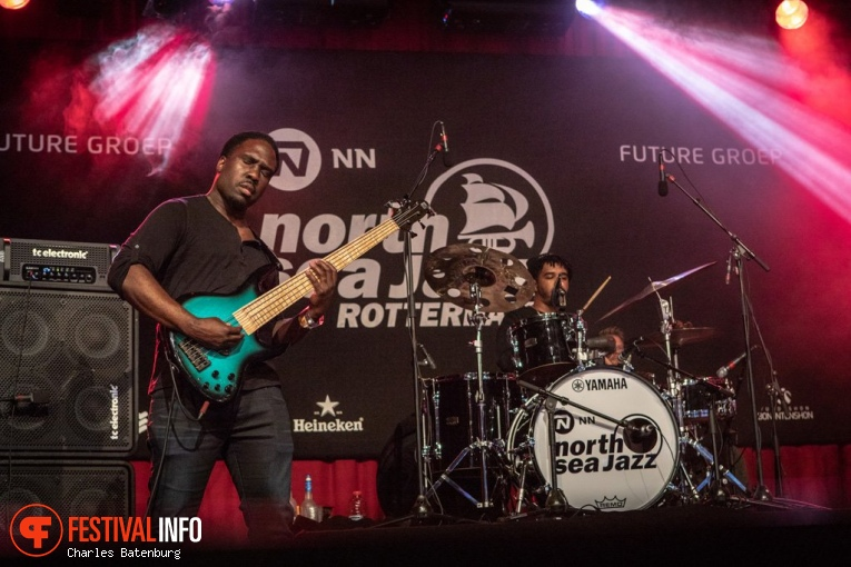 R+R=NOW op NN North Sea Jazz 2018 - vrijdag foto