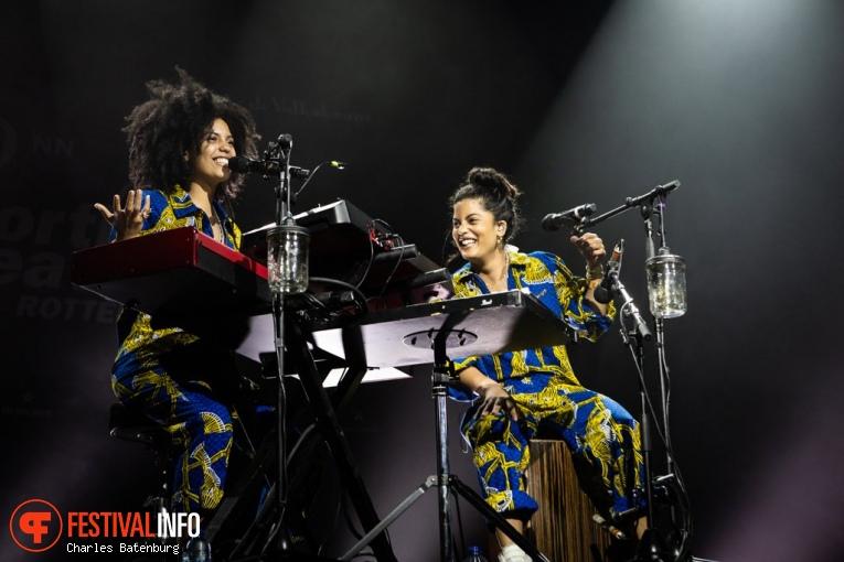 Ibeyi op NN North Sea Jazz 2018 - vrijdag foto