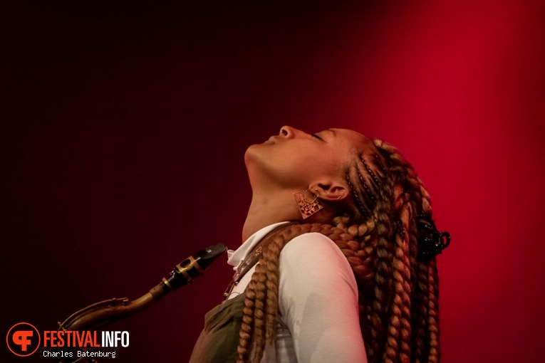 Nubya Garcia op NN North Sea Jazz 2018 - Zaterdag foto