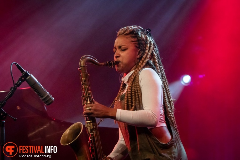 Foto Nubya Garcia op NN North Sea Jazz 2018 - Zaterdag