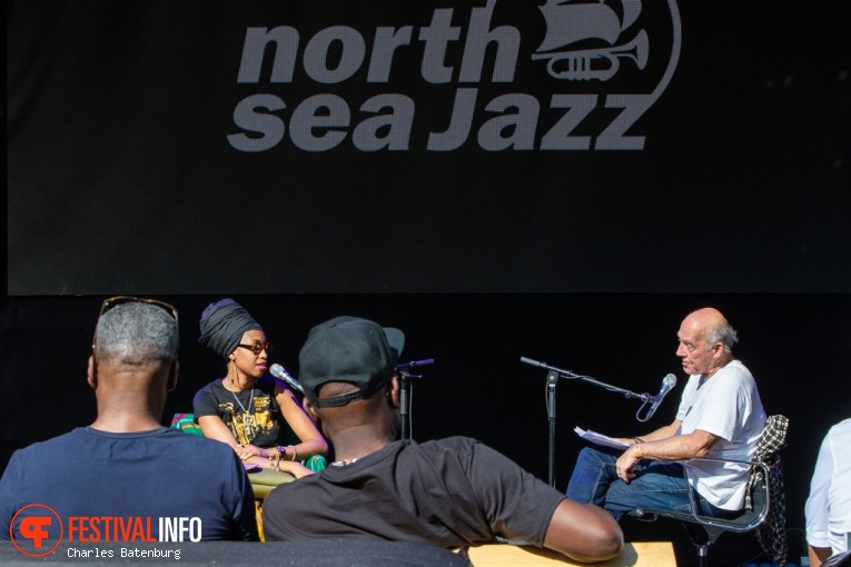 Jazzmeia Horn op NN North Sea Jazz 2018 - Zaterdag foto