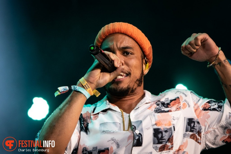 Foto Anderson .Paak & The Free Nationals op NN North Sea Jazz 2018 - Zaterdag