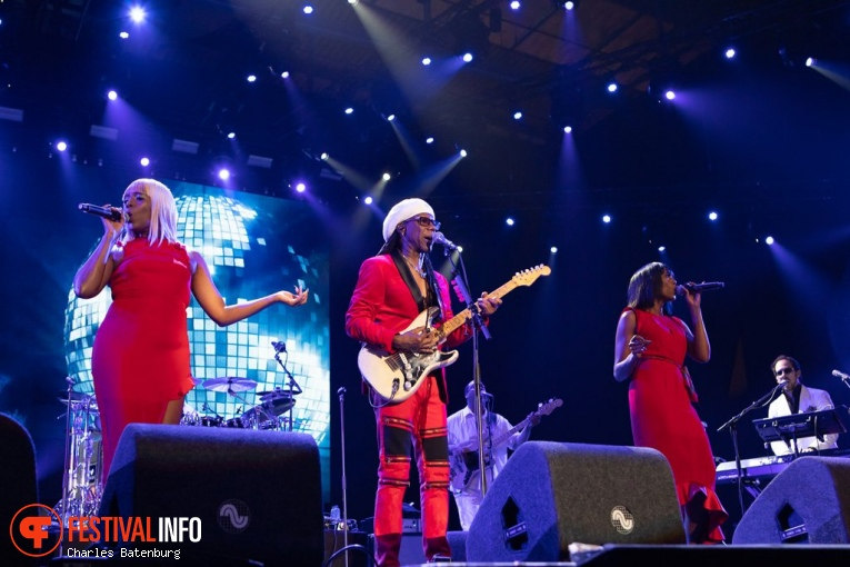 Nile Rodgers & Chic op NN North Sea Jazz 2018 - Zaterdag foto