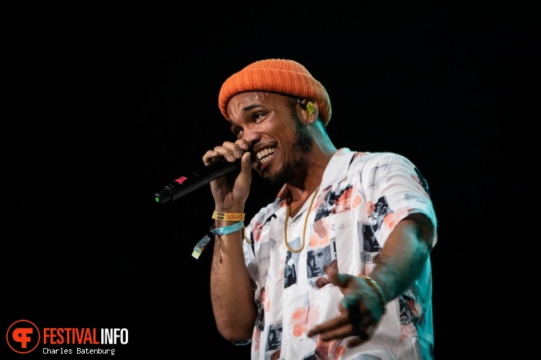 Anderson .Paak & The Free Nationals op NN North Sea Jazz 2018 - Zaterdag foto