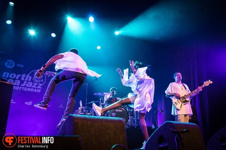 Coely op NN North Sea Jazz 2018 - Zondag foto