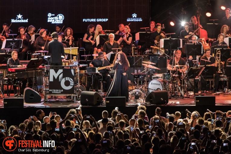 Chaka Khan op NN North Sea Jazz 2018 - Zondag foto