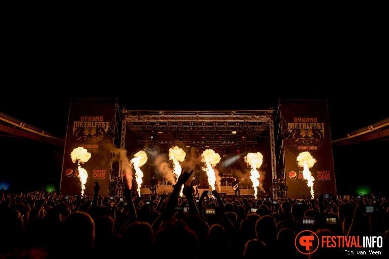 Ghost op Dynamo MetalFest 2018 foto