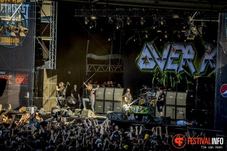 Overkill op Dynamo MetalFest 2018 foto
