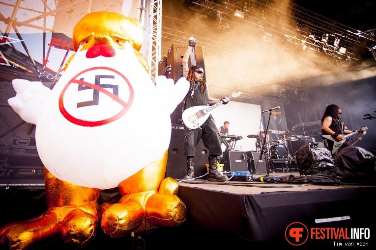 Ministry op Dynamo MetalFest 2018 foto