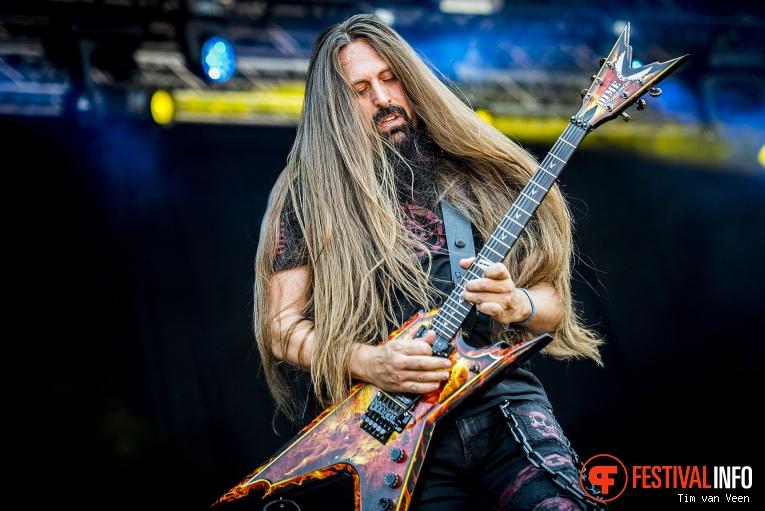 I Am Morbid op Dynamo MetalFest 2018 foto