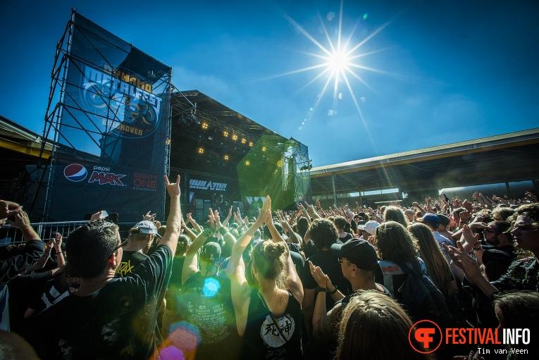 Annihilator op Dynamo MetalFest 2018 foto